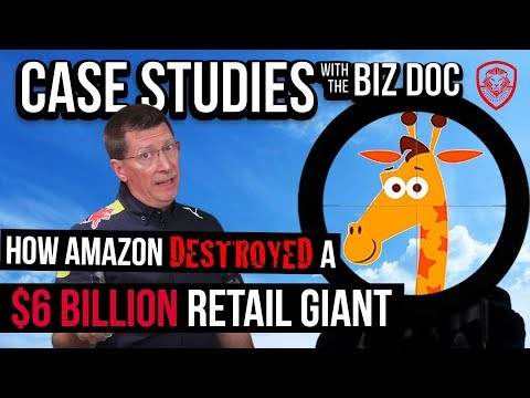 How Amazon Destroyed Toys R Us - The $6 Billion Retail Giant