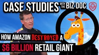 Toys R Us Closing- How Amazon Destroyed the $6 Billion Retail Giant