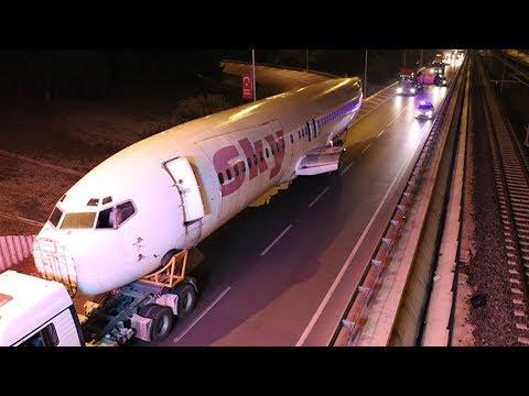 ANTALYA YOLUNDA BİR BOEING 737! | #bufotografgercek