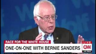 "Bernie Sanders calls Wolf Blitzer ""Jake"" five times in one interview"