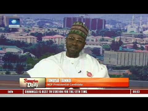 NCP Pres Candidate Yinusa Tanko Highlights Ways To Curb Vote Buying Pt.2