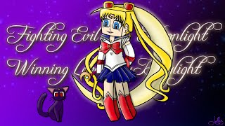 SailorMoon Minecraft Style - SpeedArt - LollieGirlGamer (Livestream)