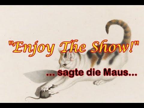 Tragt Masken und enjoy the show!
