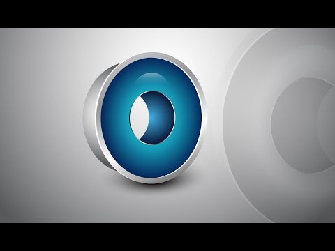 Adobe Illustrator Tutorial | 3D Logo Design (Glossy Blue)
