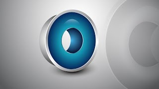 Adobe Illustrator Tutorial   3D Logo Design (Glossy Blue)