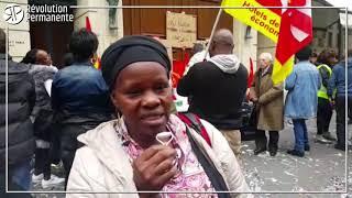 """Les """"petites mains"""" de l'hôtel de luxe Hyatt Vendôme en grève depuis 9 jours contre la précarité"""