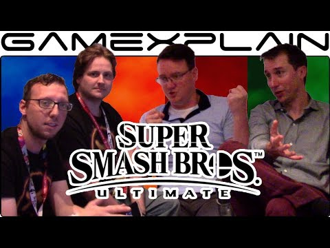 Talking Super Smash Bros. Ultimate with Treehouse's Bill Trinen & Nate Bihldorff