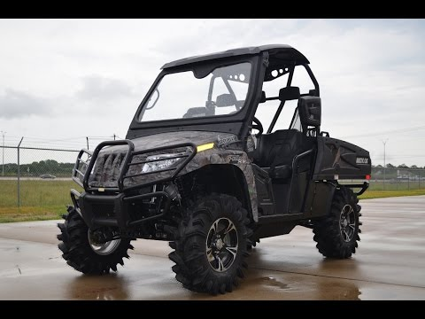 $15,599:  2015 Arctic Cat Prowler 700 HDX XT with Lifted and Loaded