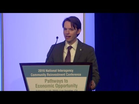 Amias M. Gerety at the 2016 National Interagency Community Reinvestment Conference