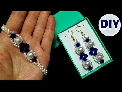 learn-beading.-how-to-make-jewelry.-diy-earrings.-diy-bracelet