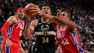 Highlights: Bucks 112 - 76ers 101 | 2.6.20