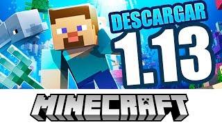 Descargar Minecraft 1.13 Gratis Para PC | No Premium Actualizable | ( Con Skin y Capa Online ) 📺 ✅