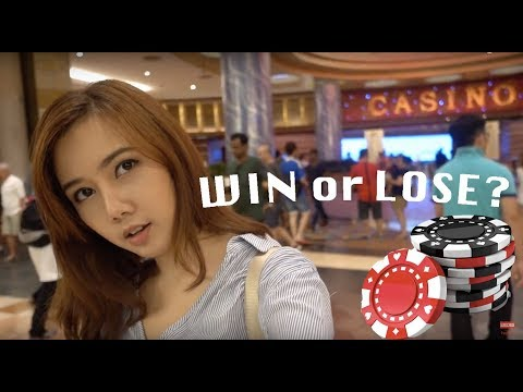 Sentosa Casino | Singapore | Win or Lose? | Before After | Travel Vlog