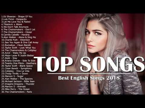 اغاني انجليزية افضل اغنية اجنبية 2018 best english songs playlist اغاني اجنبية مشهور2018