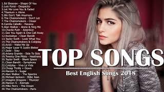 2018  best english songs playlist                                    2018