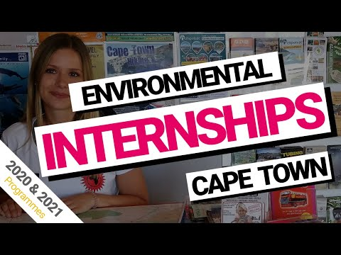 Environmental Science Internships Cape Town, South Africa (2018 & 2019)