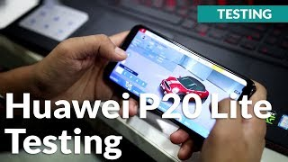 Huawei P20 Lite Gaming Review, Battery Life and Charging Test: Not for Heavy Usage!