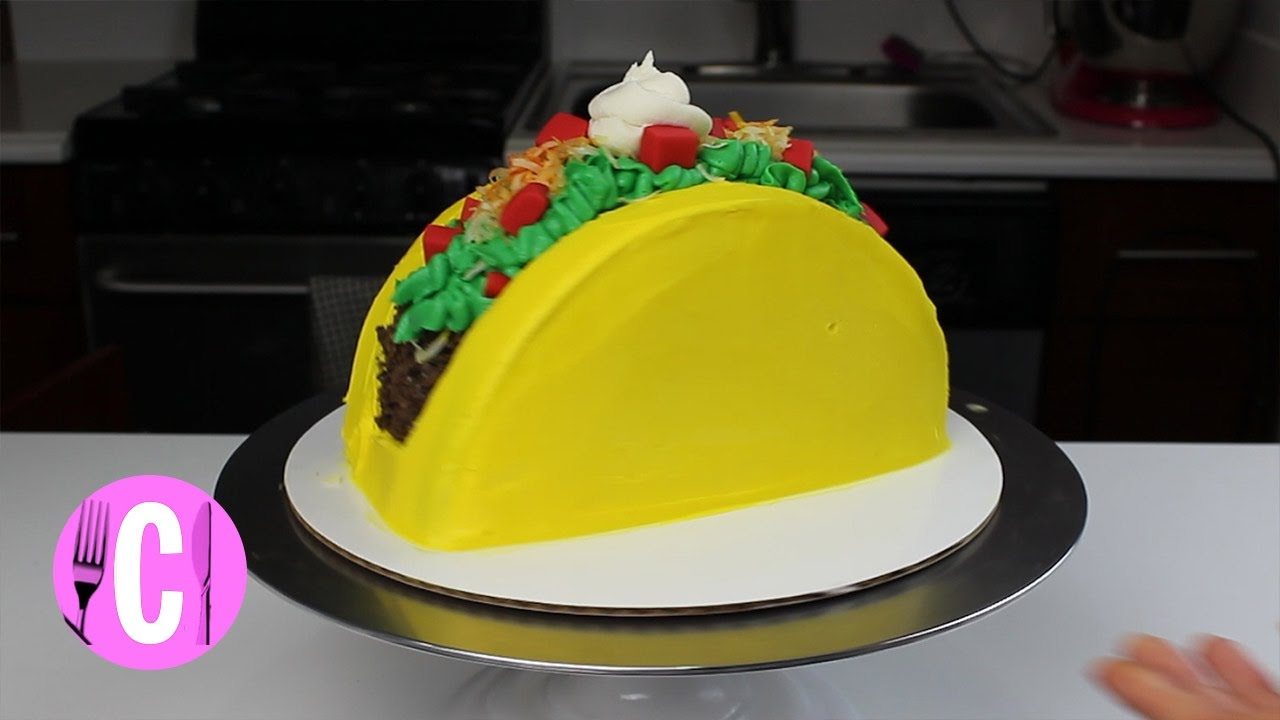 Chelsweets Taco Cake