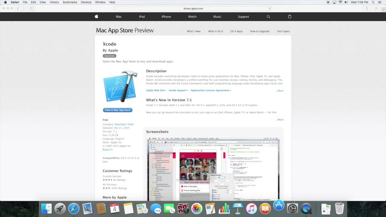 download xcode for pc free