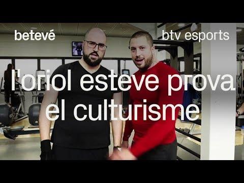 Un toc d'humor - L'Oriol Esteve prova el Culturisme | betevé from YouTube · Duration:  9 minutes 50 seconds