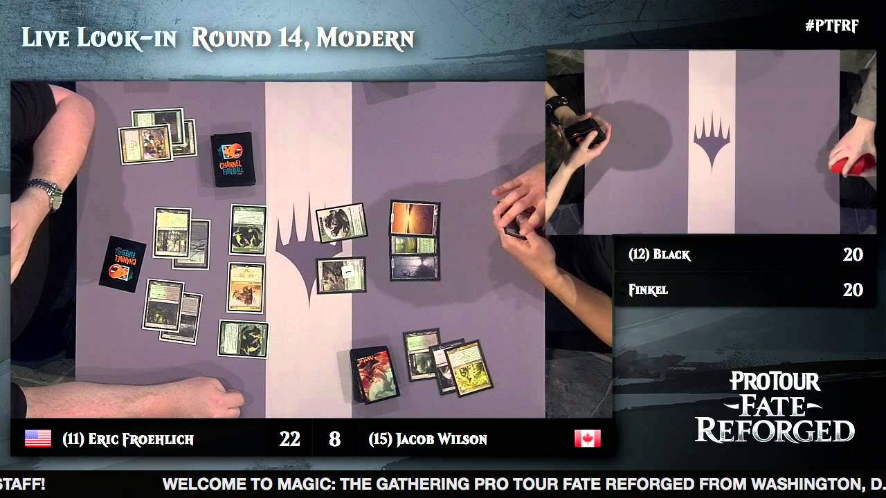 Magic The Gathering Pro Tour Fate Reforged