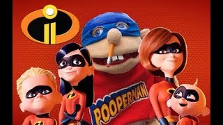 Jeffy in the Incredibles 2 (2018)!