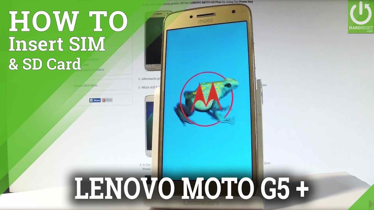Moto G5 Sd Karte.Lenovo Moto G5 Plus Insert Sim Sd Sim And Sd Card Slot