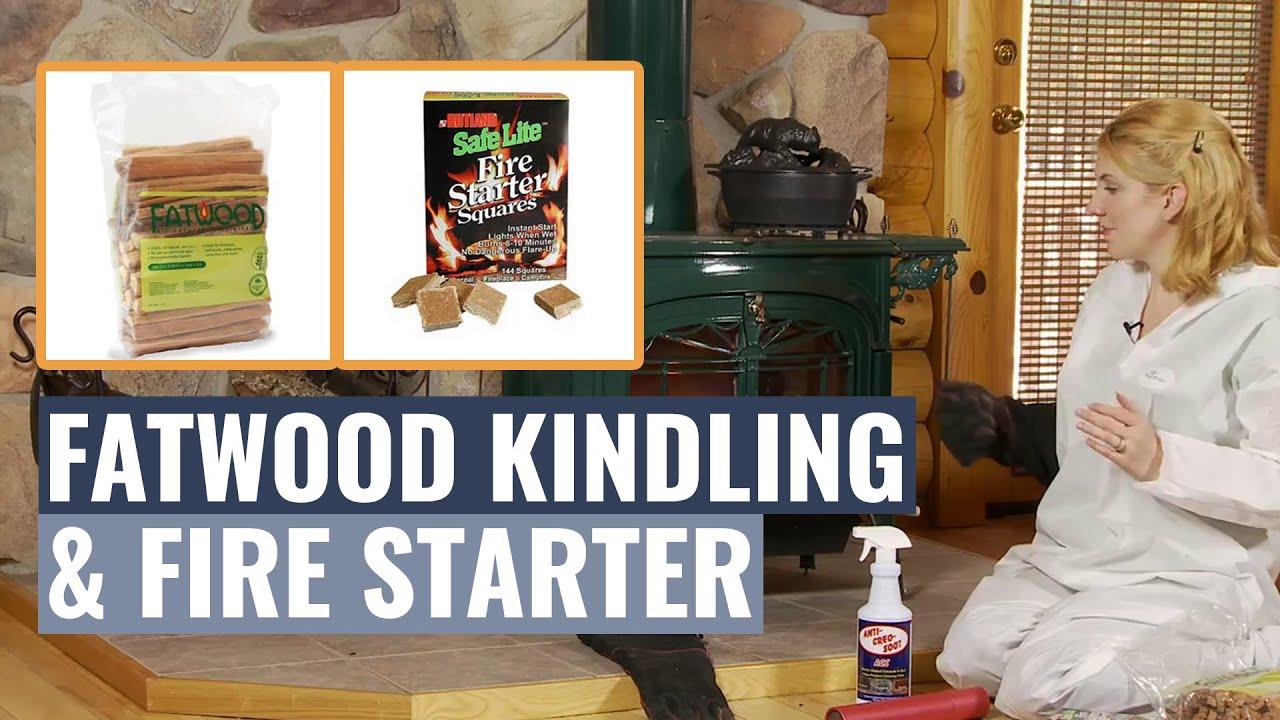 fatwood kindling u0026 fire starter youtube