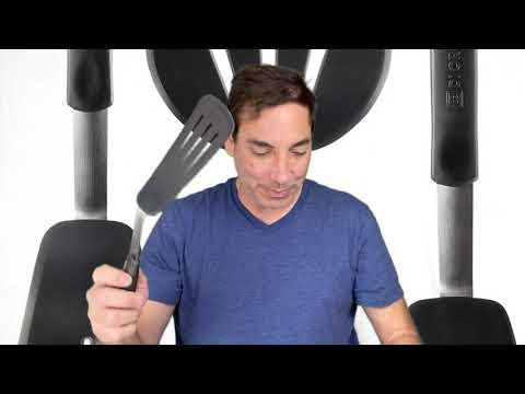 Di Oro Chef 3 Piece Silicone TUrner Spatula Set Review & Unboxing