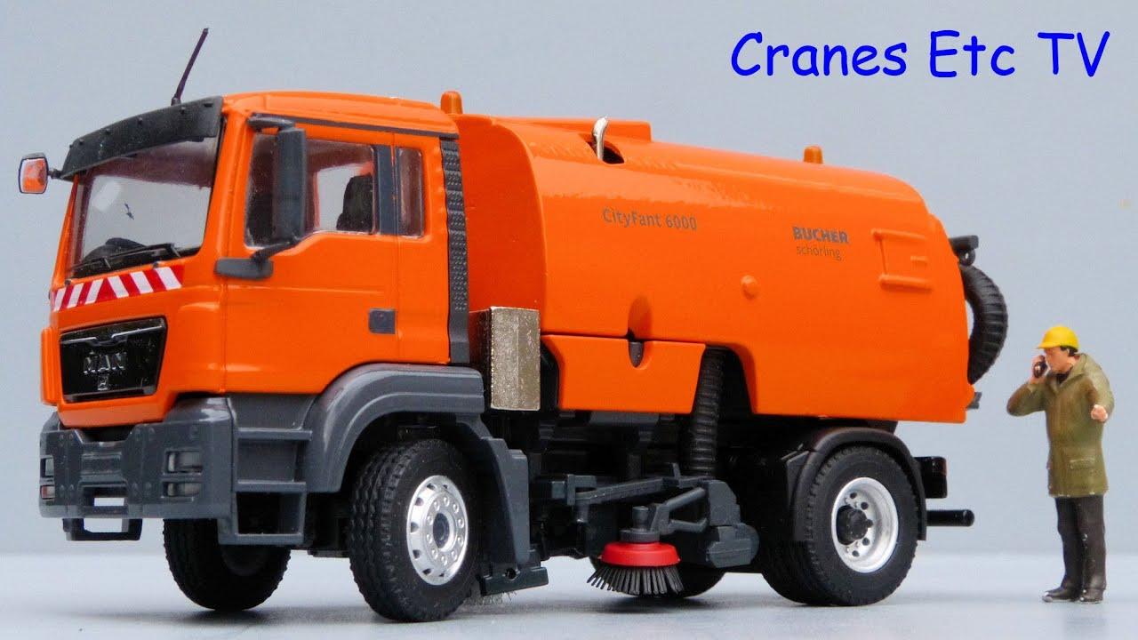 Conrad Man Tgs Bucher Schrling Cityfant 6000 Road Sweeper