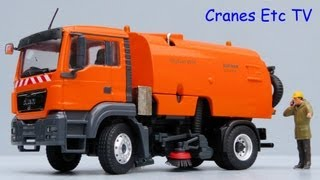 Conrad MAN TGS Bucher Schörling CityFant 6000 Road Sweeper by Cranes Etc TV