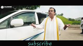 South Indian movie comedy clip in hindi try not to laugh  by BRAHAMANDAM