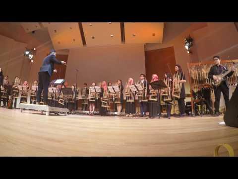 Bunda - Angklung Hamburg Orchestra ft. Gita & Paulus (Live-GoPro view)