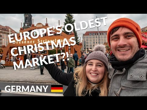 Europe's OLDEST Christmas Market | Dresden Christmas Market in Germany