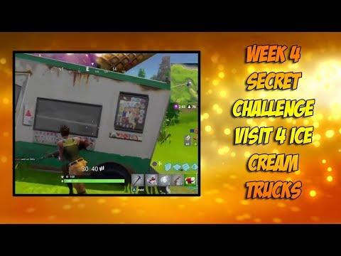 Visit 5 Different Ice Cream Truck Locations!