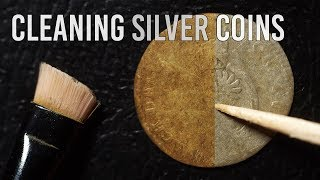This Is How I Clean Old Silver Coins (Without Chemicals)