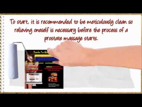 Prostat massage video
