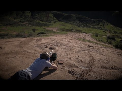 Remington 700 Long Distance Target Practice