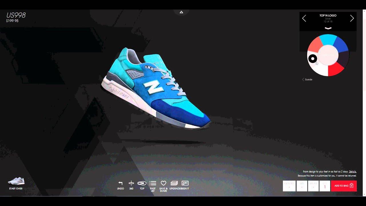 998 new balance custom