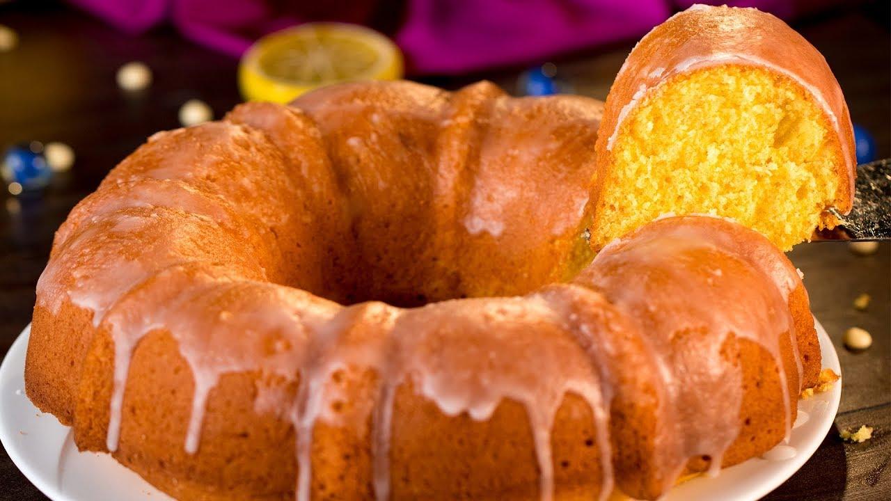 Лимонный кекс - очень ароматный и безумно вкусный десерт! | Appetitno.TV