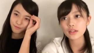下尾みうちゃんとの配信. 20161220 早坂 つむぎ (AKB48 チーム8) SHO...