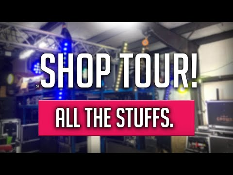 2020 MULTI-OP DJ COMPANY AND PRODUCTION HOUSE SHOP TOUR! | A TOUR OF ALL MY DJ AND PRODUCTION GEAR