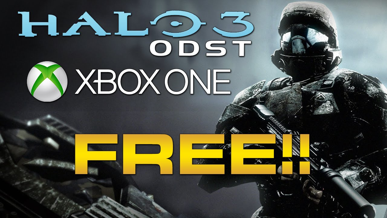Halo 3 ODST On XBOX ONE Amp Halo 2 Remastered Relic For