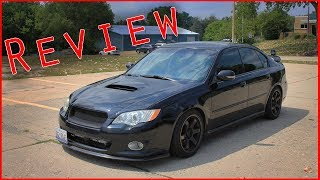 2008 Subaru Legacy GT Review