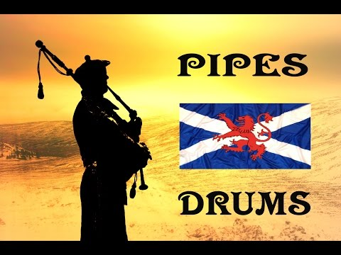 ⚡️Scottish Pipes & Drums⚡️Cock O' the North⚡️Bonnie Dundee⚡️Blue Bonnets Over the Border⚡️