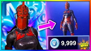 How to GET the Red DAMA Legendary Skin **FREE** in Fortnite: Battle Royale [BySixx]