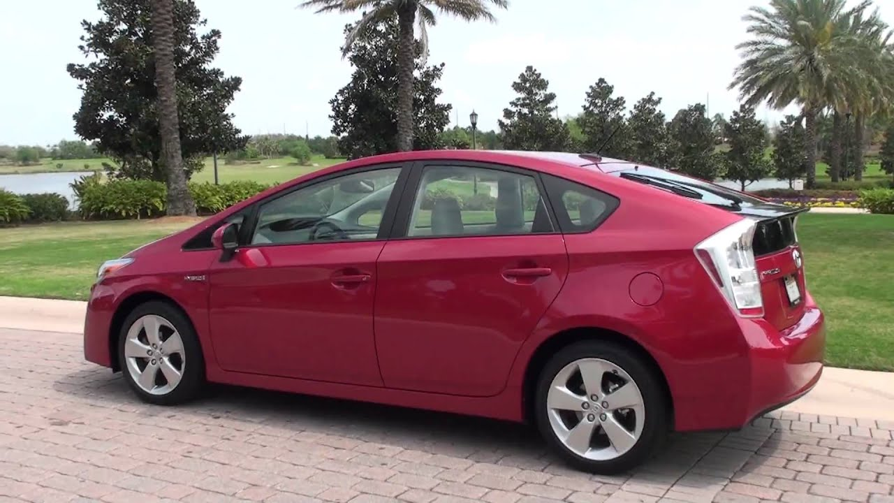 Detailed walk around 2010 toyota prius hybrid in hd