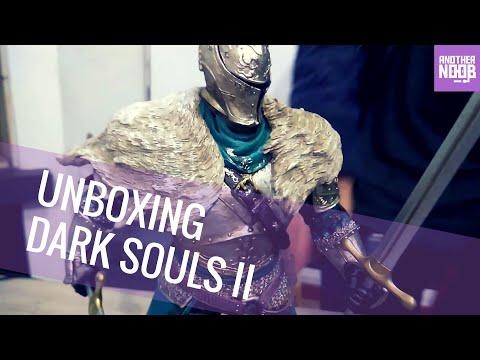 Unboxing de la edición de coleccionista de Dark Souls II - Nooboxing