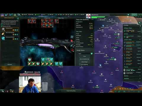 IUPlays Stellaris Synthetic Dawn Insane Difficulty (S04Ep032) Fondara Supervisors |