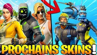 THE 23 PROCHAINS SKINS, PIOCHES AND ACCESSOIRES on Fortnite: Battle Royale